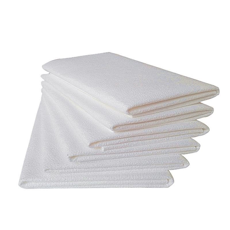 45*50cm Super Absorbent Cleaning Towel Sponge Cloth Artificial Chamois Suede Cloth Microfiber Drying Towel For Car Washing