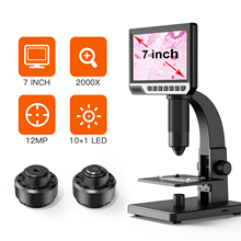 Microscope-Camera Magnifier Digital 2000X Electronic Amplification for DIY USB Industrial