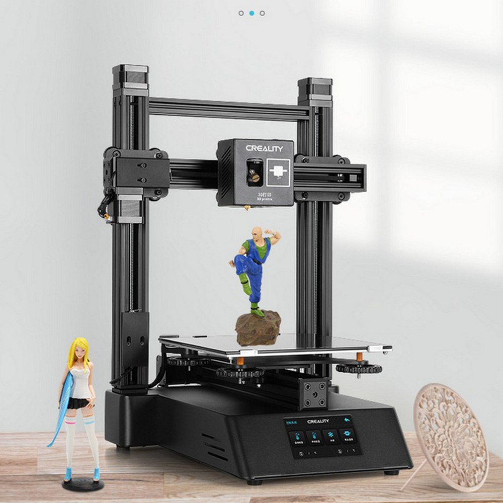 NEW 3 In 1 3D Ender-3 / Ender-3 Pro 3D Printer Engraving Self-assemble With Upgrade TFT Touch Screen 3d Printer  Diy Kit UV