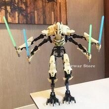 29 Stlye KSZ StarWars Darth Vader White Trooper Figure Toys Building Blocks Bricks lepining Star Wars For Children
