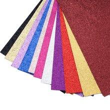 10 шт., 20*34 см, однотонный цвет, блестящая синтетическая кожа, материалы ручной работы для изготовления сережек, бантов для волос, 1Yc8807