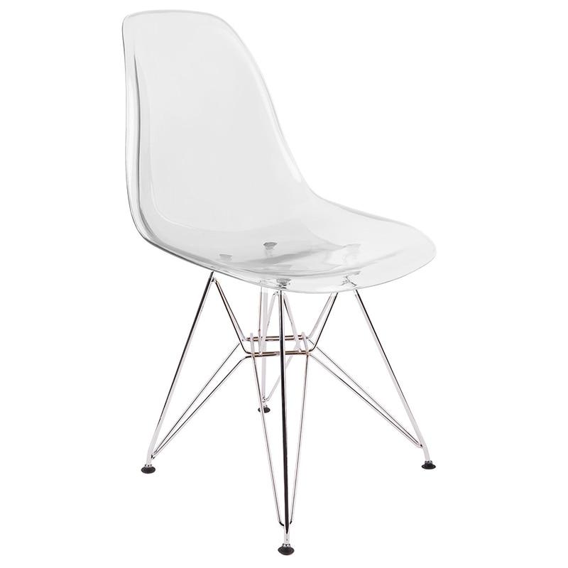 Transparent Chair Creative Dining Chair Cafe Chair Outdoor Leisure Chair Art Chair Designer Chair