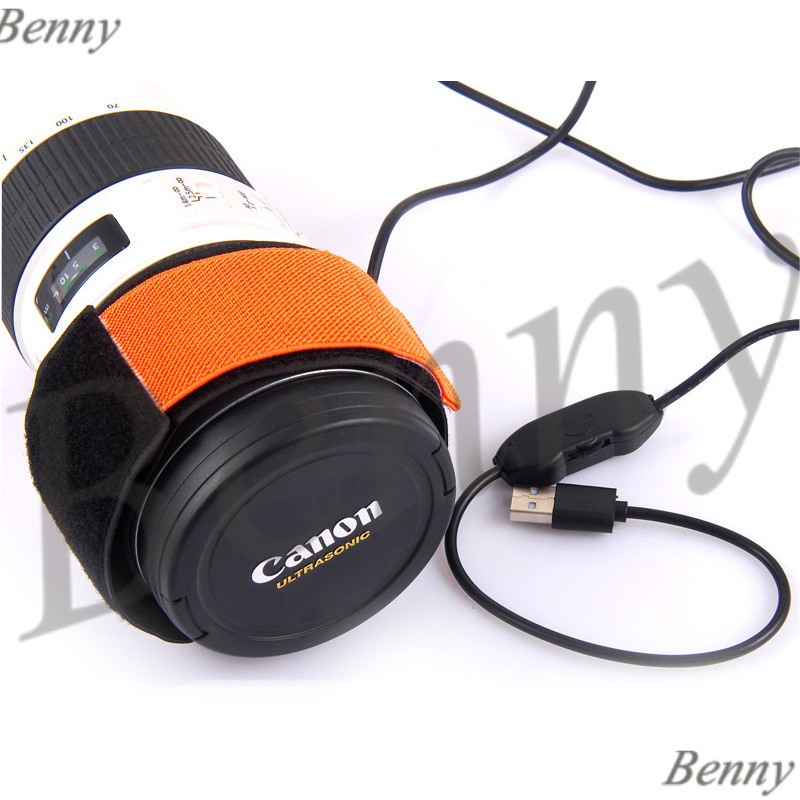 Astronomical Telescope And Camera Lens Heating Defogging Zone Stepless Temperature Control Heating Dew Band 5V Power Supply