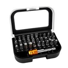 31 в 1 Магнитная отвертка Биты костюм высокое качество 25 мм биты и биты адаптер Набор для электрика наборы ручных инструментов