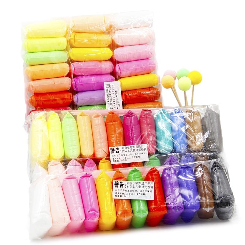 Ultra-light Clay 36 Color 24 Color Diy Colored Clay Plasticine Non-toxic Environmental Protection