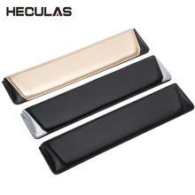 Heculas Leather Hands Wrist Rest Bevel Design Mouse Pad for 87/104/108 Mechanical Keyboard