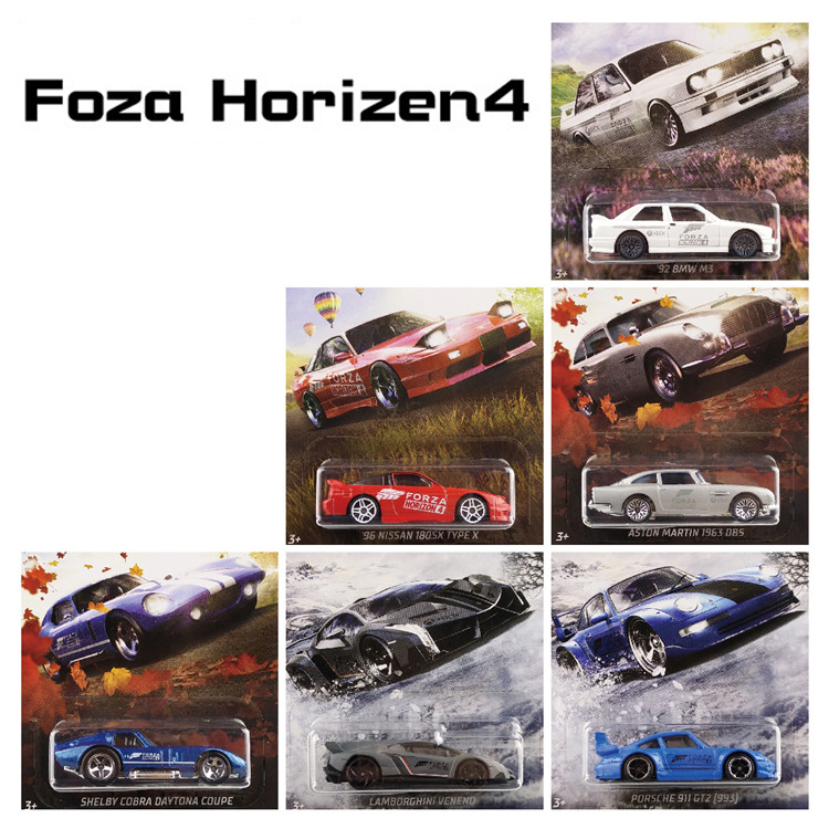 Hot Wheels 1:64 Sports Car FORZA HORIZON 4 NISSAN SHELBY ASTON MARTIN  Collector Edition Metal Diecast Model Car Kids Toys Gifts