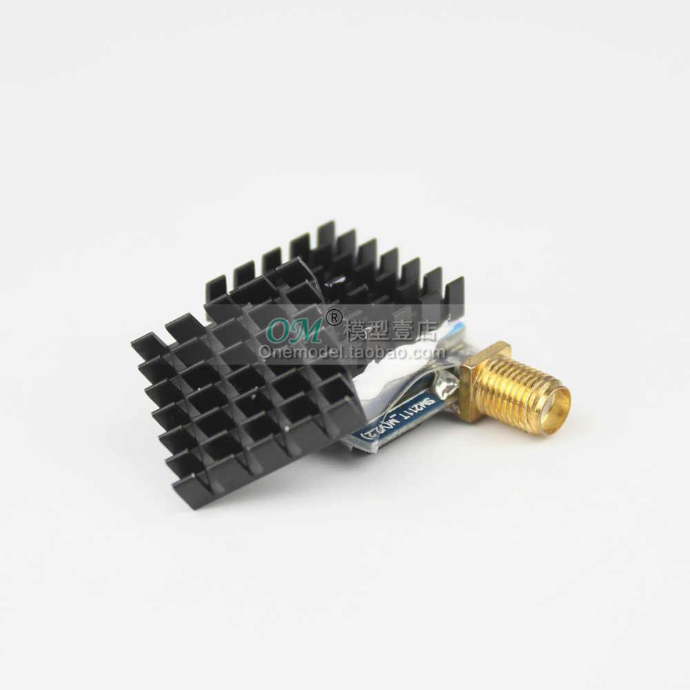 M. /-1 pcs/5 pcs/10 pcs RC Parts อลูมิเนียมฮีทซิงค์ฮีทซิงค์ 18.3*18.4*4.7 มม.สำหรับเครื่องส่งสัญญาณ FPV TS5828 TS5828L TS5823 TX526