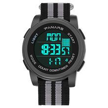 Часы для мужчин цифровые часы panars светящиеся спортивные 50