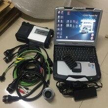 MB Star C5 диагностический инструмент SD подключения 5 используется сенсорный ноутбук CF30 программное обеспечение HDD,12 V добавлен HHT для старого автомобиля MB Star C5