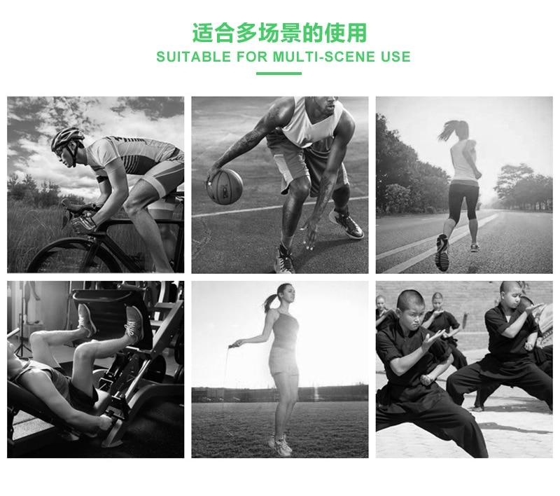 Pé proteger bandagem entorse prevenção esporte fitness