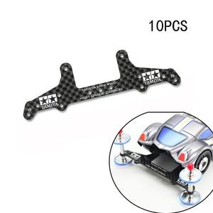 Image 1 - 10PCS 95455 AR/S2/VS/SXXแชสซี1.5มม.คาร์บอนไฟเบอร์Pterisตัวอักษรด้านหลังRoller StayสำหรับTamiya Mini 4WDแข่งรถ