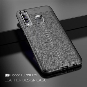 For Honor 20 lite Case Leather