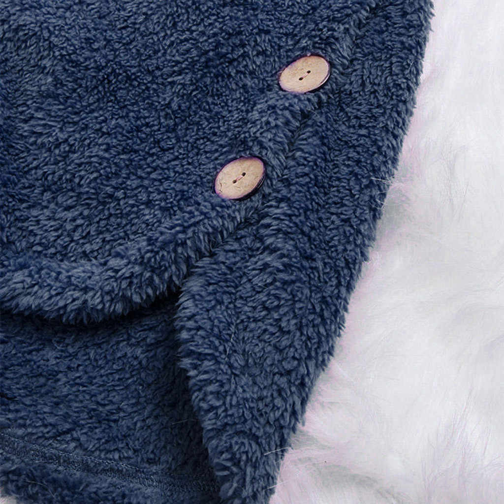هودي Bts-Bangtan kpop هوديي هوديس المرأة البلوز هودي زر معطف منفوش الذيل قمم قناع السترة فضفاضة البلوز #50