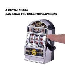 Mini máquina caça-níqueis de frutas sorte jackpot anti-stress crianças brinquedos jogo engraçado crianças brinquedo educativo presente aniversário