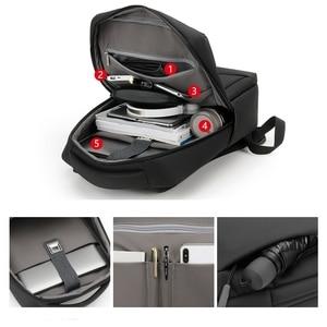 Image 3 - Anti Theft Oxford Men 14 inch Laptop Backpacks School Fashion Travel Male Mochilas Feminina Casual Women Schoolbag USB Charging