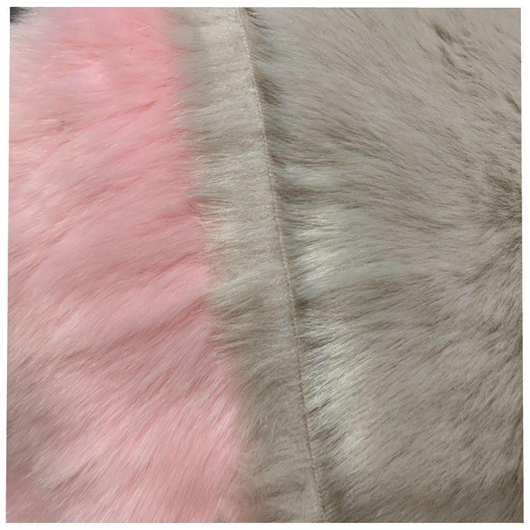 Мягкий лисий мех ткань одежда нагрудник шаль игрушка Искусственный Мягкий мех ткань оптовая продажа - 5