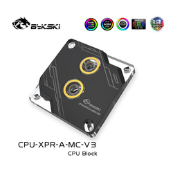 Bykski CPU-XPR-A-MC-V3 CPU Processor Block For INTEL LGA1150 1151 1155 1156 2011 X99,PC Water Cooling Support 12V RGB/5V ARGB