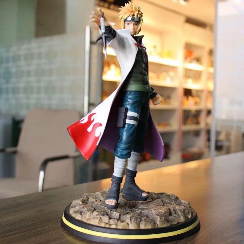 30cm japonais Anime Naruto Namikaze Minato PVC figurine jouets GK Namikaze Minato figurine décoration modèle jouet enfant cadeau