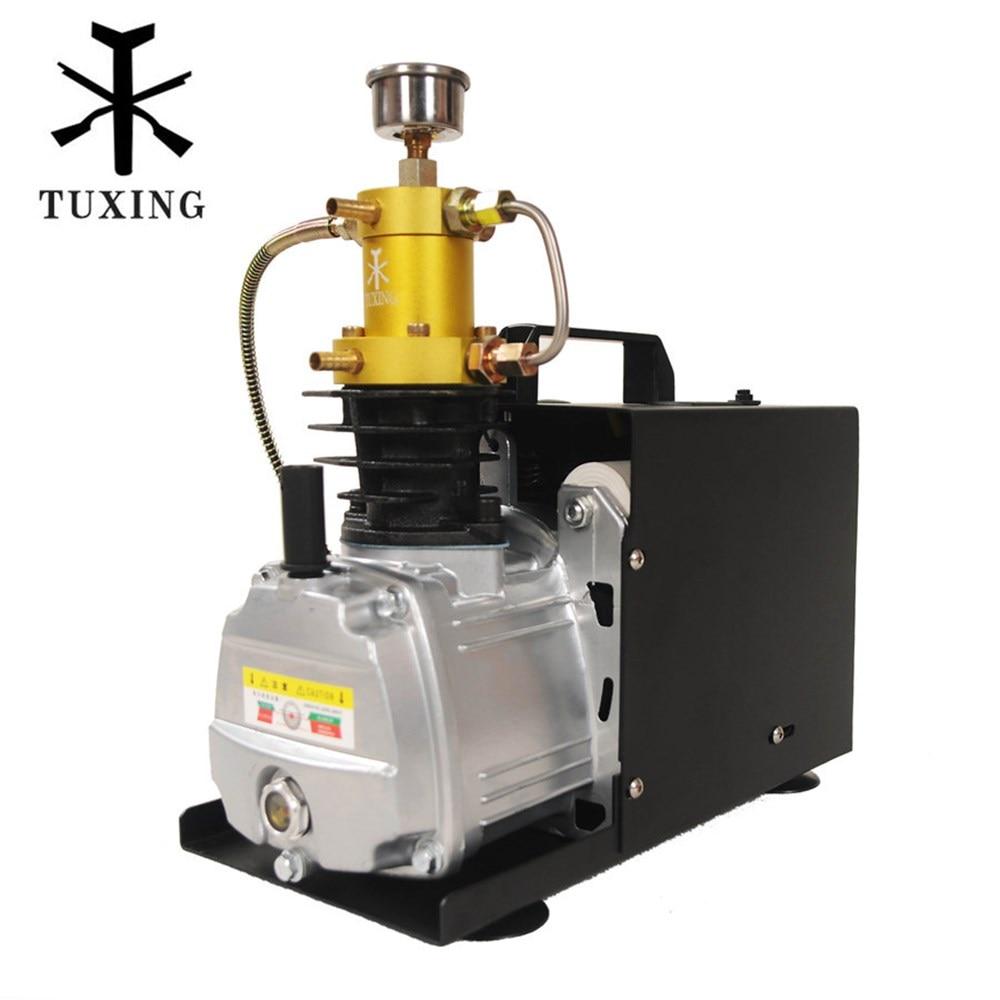 TUXING TXES031 4500Psi 300Bar 300Bar Pcp Air Compressor Electric High Pressure Pump Pneumatic PCP Rifle Airgun Scuba Inflator
