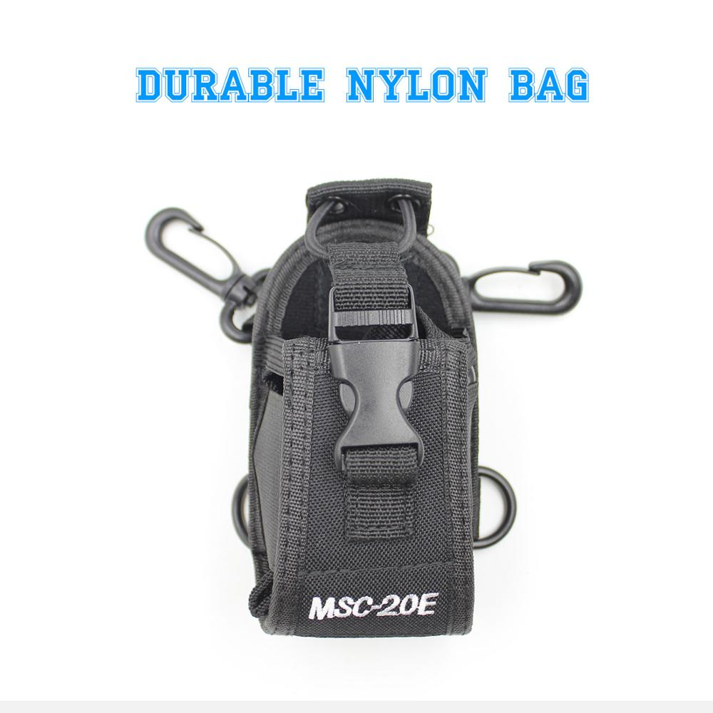 Radio Case Holder MSC-20E Nylon Carry Case For Baofeng UV-5R UV-82 UV-888S UV-9R Walkie Talkie