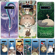 Cute Anime Pola Case Telepon untuk Samsung Galaxy S8 S9 S10 Plus S6 S7 Edge S10E Note 8 Catatan 9 Catatan 10 Pro Cover Etui(China)