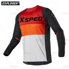 2021 Men's Downhill Jerseys Mountain Xsped Bike MTB Shirts Offroad DH Motorcycle Jersey Motocross Sportwear Clothing FXR bike