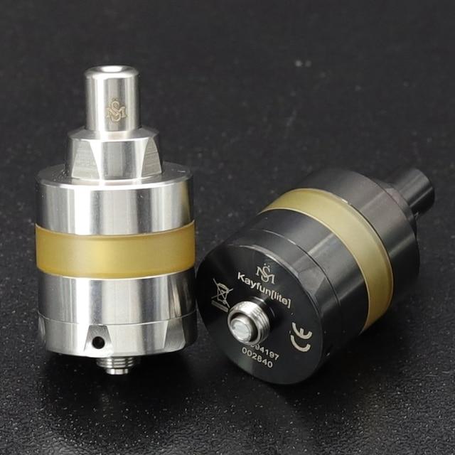 Vape mini KAYFUN LITE 2019 MTL atomizer do tanku RTA 2ml 3.5 ML pojemność 22mm 24MM pojedyncza cewka vape vs kayfun prime Nite DLC RTA