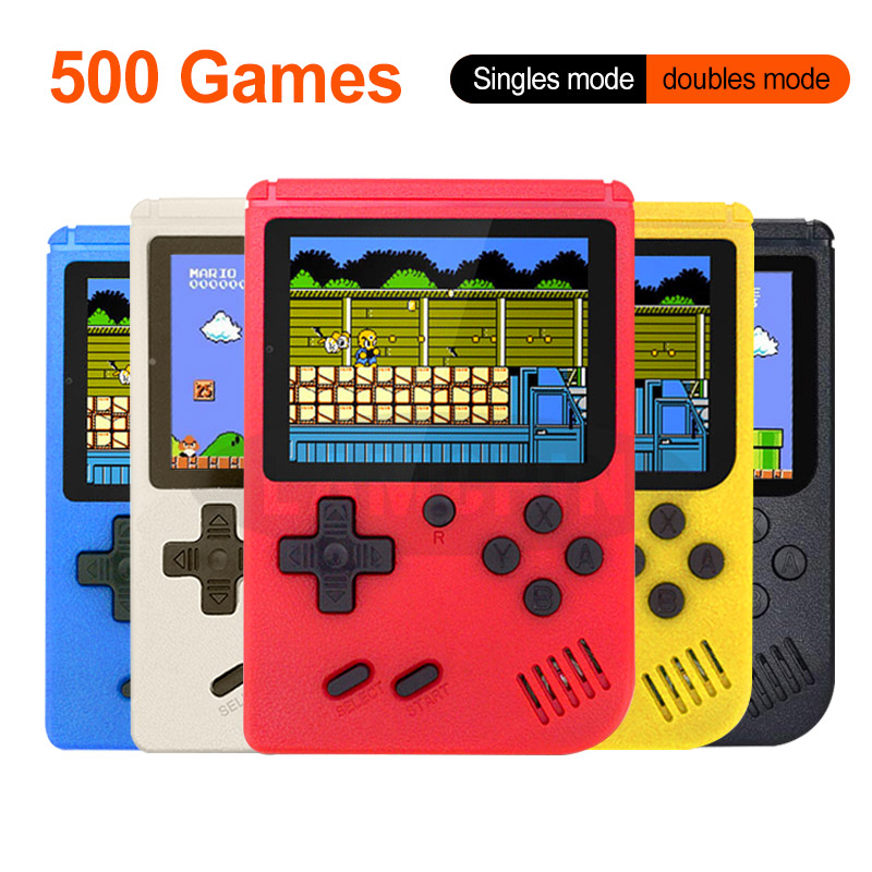 Portable Mini Retro Game Console Handheld Game Player 3 0 Inch 500 Games IN 1 Pocket Game Console