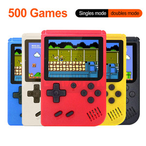 Portable Mini Retro Game Console Handheld Game Player 3.0 Inch 500 Games IN 1 Pocket Game Console(China)