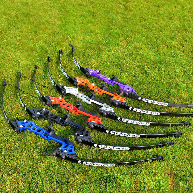Professional Hunting Bow Archery 40lbs Powerful Recurve Bow Outdoor Hunting Shooting New Beginner Practice Arrows Accessories
