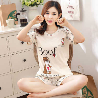 Summer Women Pajamas Set Cute Kwaii Hello Kitty  Sleepwear  Pajamas For Women  Plus Size  Pj Set