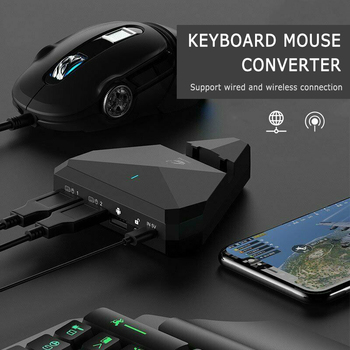 PUBG Mobile Gamepad Controller Gaming Keyboard Mouse Converter For Android ios Phone IPAD Bluetooth wireless Adapter Universal