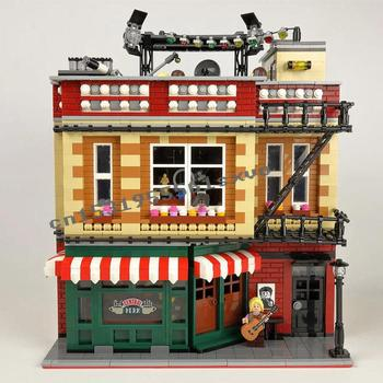 2020 New Lepining Classic TV Series American Drama The Big Bang Theory Friends Central Perk Cafe Building Block Brick Toys Gift 2