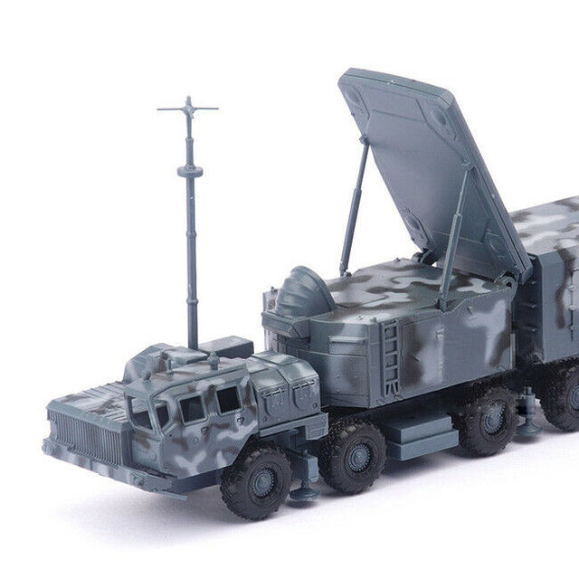1/72 BATTLEField Russian china S-300 SA-10 air defense missile radar vehicle TombStone Radar carriage assembly Model 6