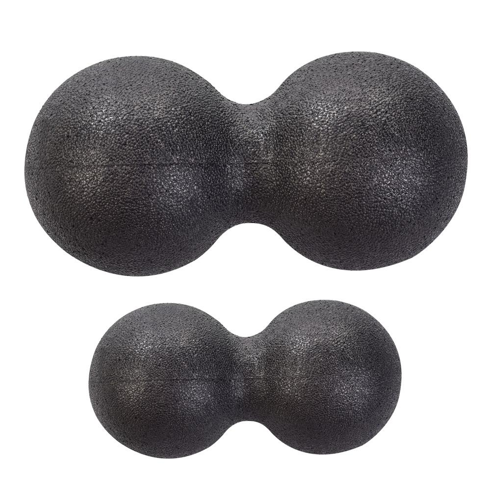 Mini Peanut-shape Fascia Self-massage Neck Arms Calf Relax Muscle Ball Shoulder Back Legs Rehabilitation Training Ball Duo Balls
