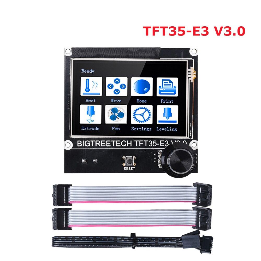 BIGTREETECH TFT35 E3 V3 0 Touch Screen 12864 LCD Display 3D Printer Parts Wifi TFT35 For Ender3 CR-10 SKR V1 3 SKR V1 4 MINI E3