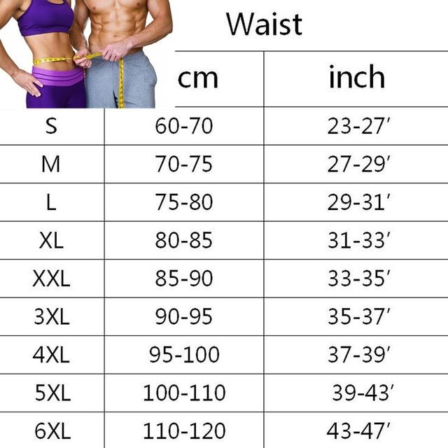 Mens Thermo Neoprene Body Shaper Waist Trainer Belts Slimming Corset Waist Support Sweat Underwear Strap Modeling Shapewear Sets 5