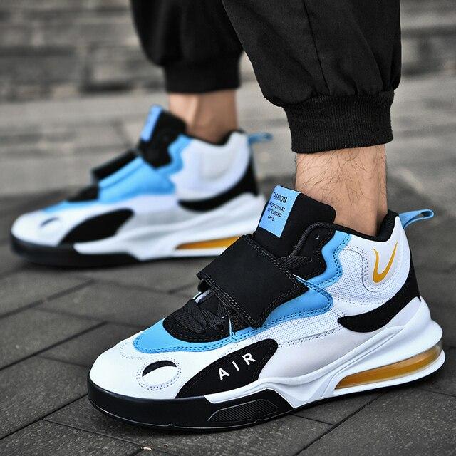 Zapatos Deportivos informales para hombre, zapatillas de baloncesto cómodas de alta calidad, transpirables, para correr, 2021 1