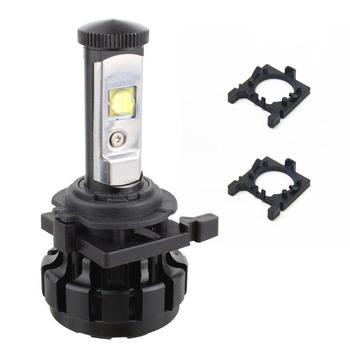 2Pcs/Lot H7 LED Car Headlight Bulb Base Holder Adapter Socket For Ford Focus Fiesta Mondeo Low Beam Auto Light Lamp Mount Stand image