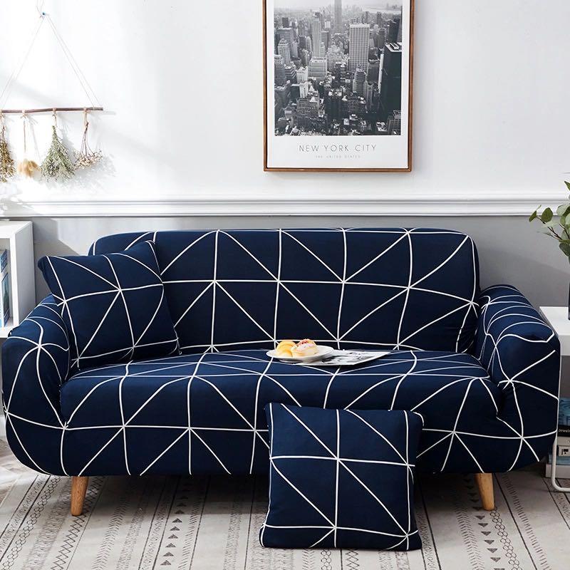 Bedroom sofa cover plant printed sofa cover universal elastic sofa cover living room non slip sofa