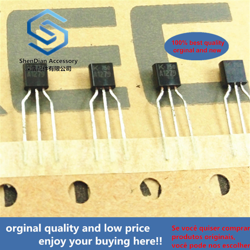 30pcs 100% Orginal New KTA1279 A1279 TO-92 EPITAXIAL PLANAR PNP TRANSISTOR Real Photo