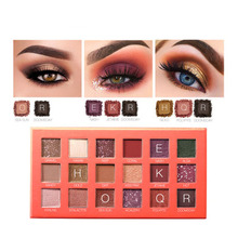 18 Colors Eye Shadow Palette Matte Shimmer Pigment Powder Lasting Makeup Eyeshadow MakeUp Palette Glitter Eyeshadow Cosmetics zhenduo 15 colors shimmer matte glitter eyeshadow natural long lasting eye shadow palette pigment beauty makeup palette