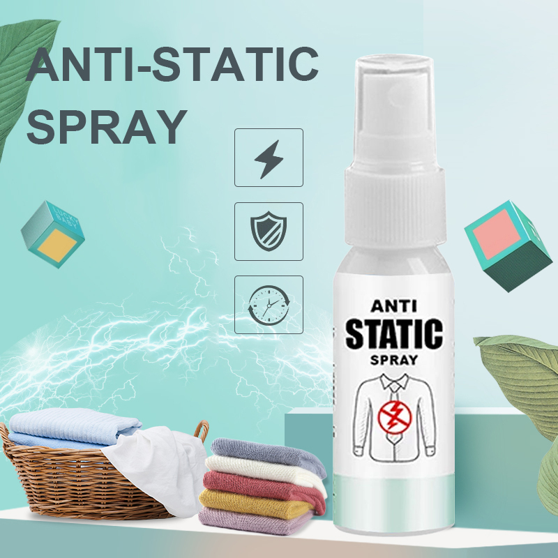 Antistatic Spray Static Remover Spray For Clothes Lasting Anti-Wrinkle Anti-Sticking Household Chemicals Anti Static Spray TSLM1