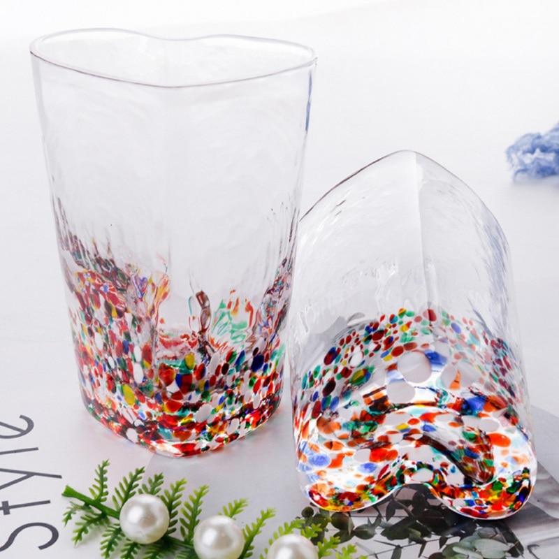Transparante Koffie Cup Voor Drinken Beest Geschenken Muur Transparant Glas Thee Cup Hartvormige Voor Vriendin Kantoor Home Decor