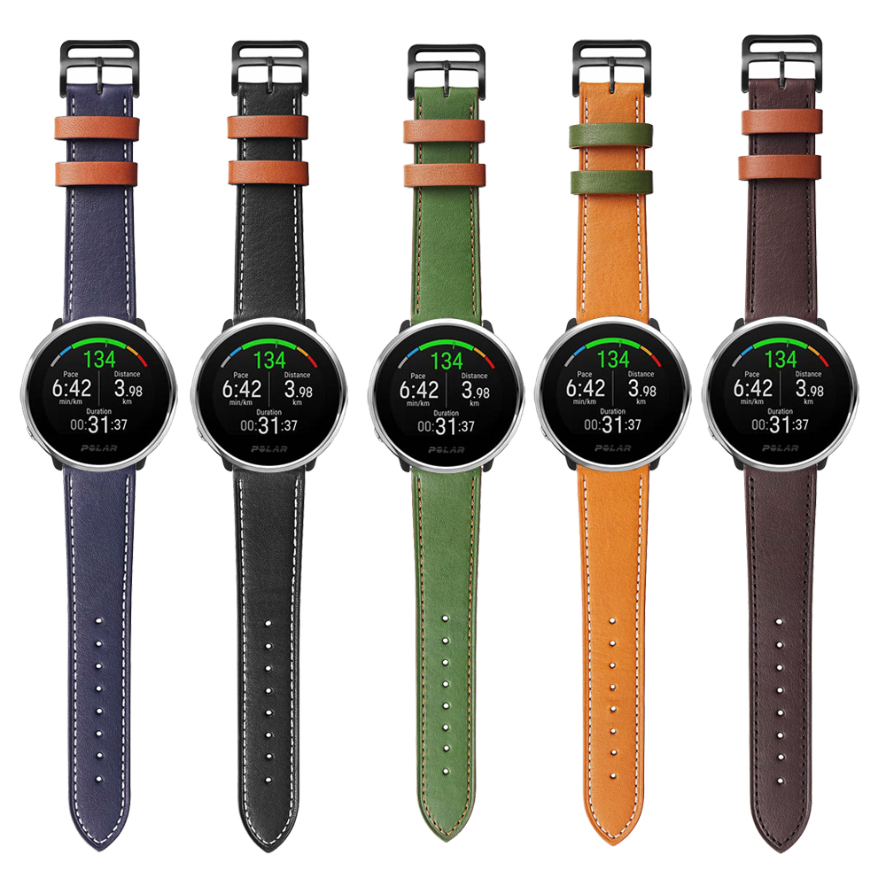 Replacement Accessories Watchband For POLAR IGNITE Smart Watch Band Vantage M Leather Strap Wristband Bracelet 22mm 20mm