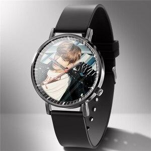 Image 4 - Mannen Horloge Rubber Liefhebbers Horloges Diy Kan 1 Stuk Custom U Foto Logo Foto Klok Bewerking Uur Drop Shipping Gift familie