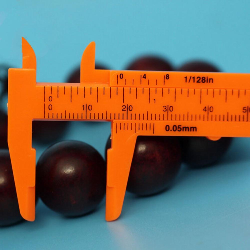 80MM Length Vernier Caliper Mini Vernier Calipers 1 Mm/mini Ruler Micrometer Gauge S Plastic Measuring Tools
