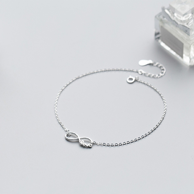 Heart 925 Sterling Silver Anklet chain Foot Chain Ankle Charm Anklet Foot Fashion Anklets Chain Jewelry Giftmen Fine Jewelry