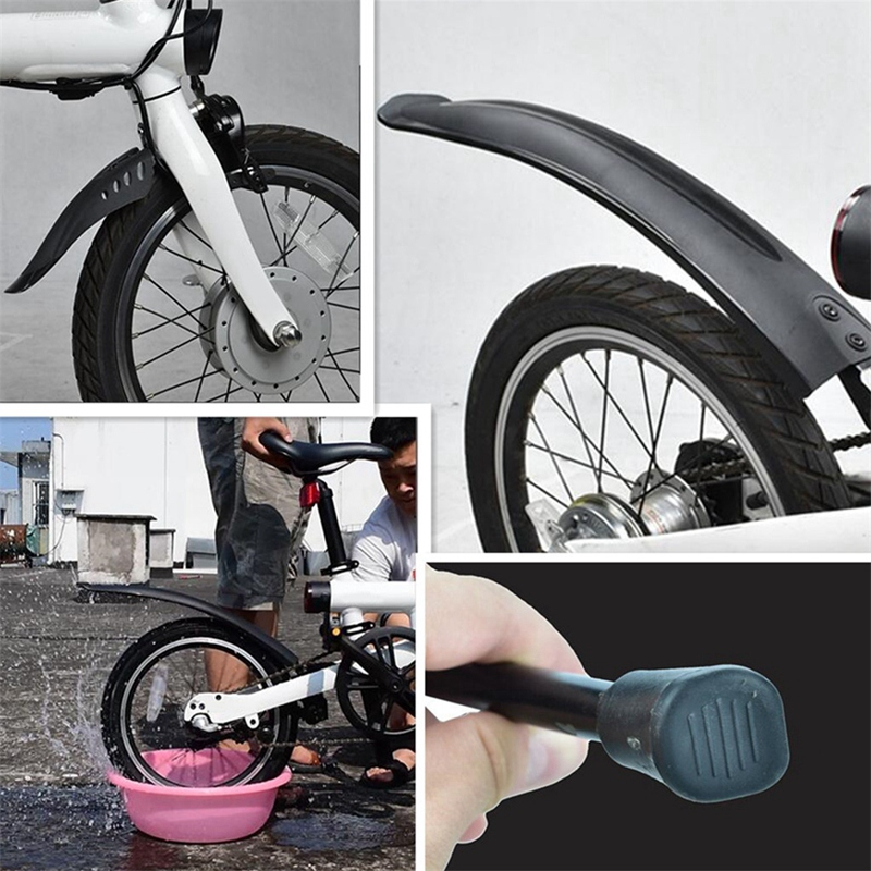 Bike Tyre Splash Front Rear Mudguard Shelf Rack For Xiaomi Qicycle EF1 Electric Bicycle Accessories